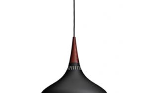 Orient Black Pendant 2